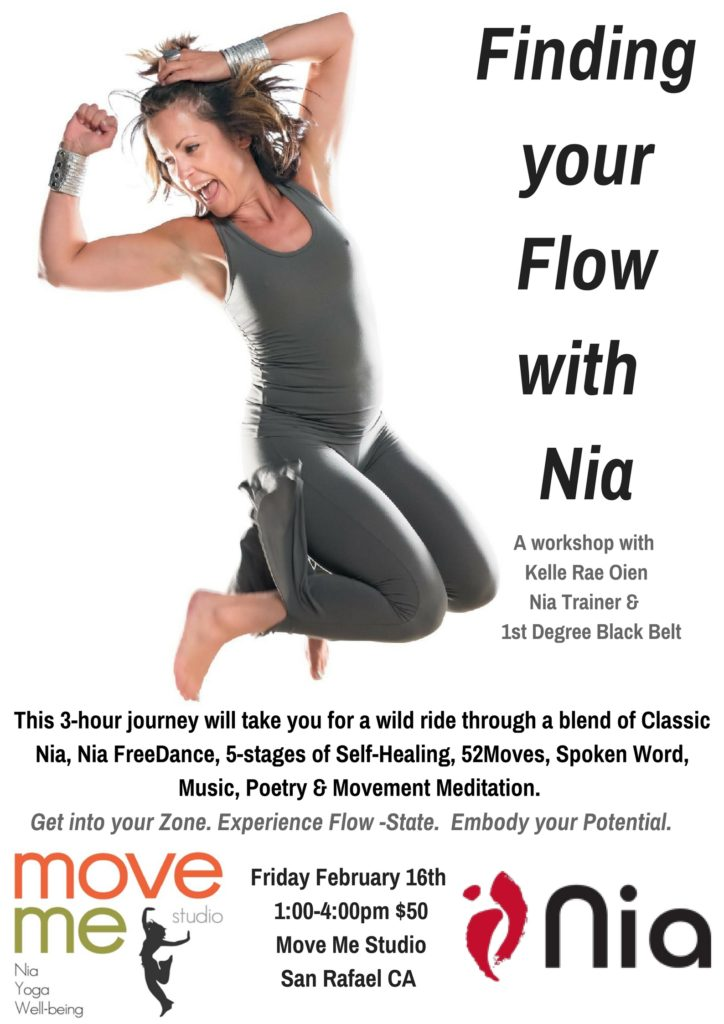 Kelle Rae Event - Finding your flow with Nia